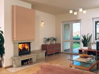 Камин и котел в системе отопления дома