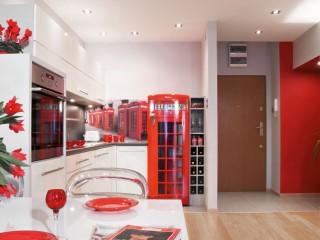 Лондон на проводе! Интерьер стильной кухни.