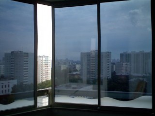 Панорамные окна своими руками