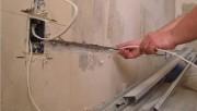Установка электрической проводки в помещении