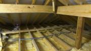 Как утеплить потолок опилками