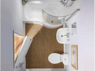 Дизайн ванной комнаты маленького размера в хрущевке.