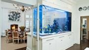 Подводное царство: аквариум в интерьере квартиры
