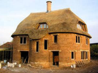 Отделка саманного дома