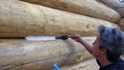 Герметики для заделки швов и трещин сруба
