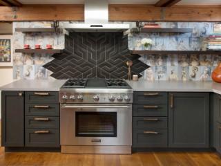 Обои для кухни: современный дизайн 2018 года