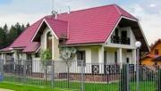 Вальмовая крыша: особенности, плюсы, минусы