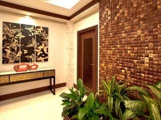 Мозаика из кокосового ореха