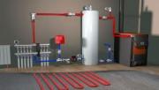 Как произвести монтаж отопления дома?