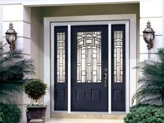 Теплые входные двери