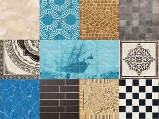Типы керамических плиток