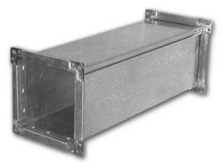 Прямокутні повітропроводи з оцинкованої сталі (вентиляційні короба)