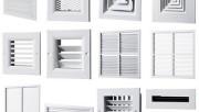 Види та способи монтажа круглих вентиляційних решіток.